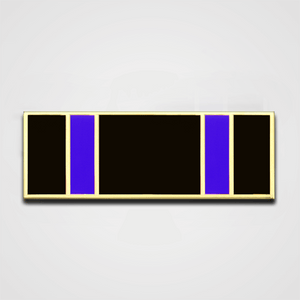 Load image into Gallery viewer, 5-Stripe Black/Blue Merit Pin-Bar