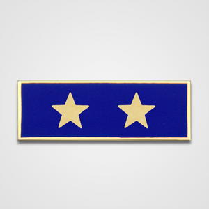 2-Star Blue Merit Pin-Bar