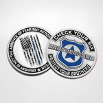 Police Brotherhood Coin