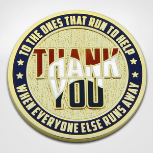 Covid-19 Thank You Coin -Front