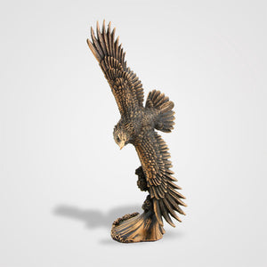 Load image into Gallery viewer, Eagle Soaring Statue