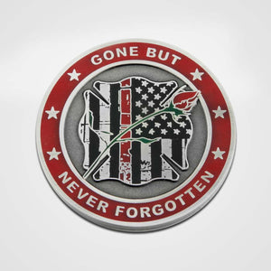 Load image into Gallery viewer, Fallen Firefighter Coin-Front