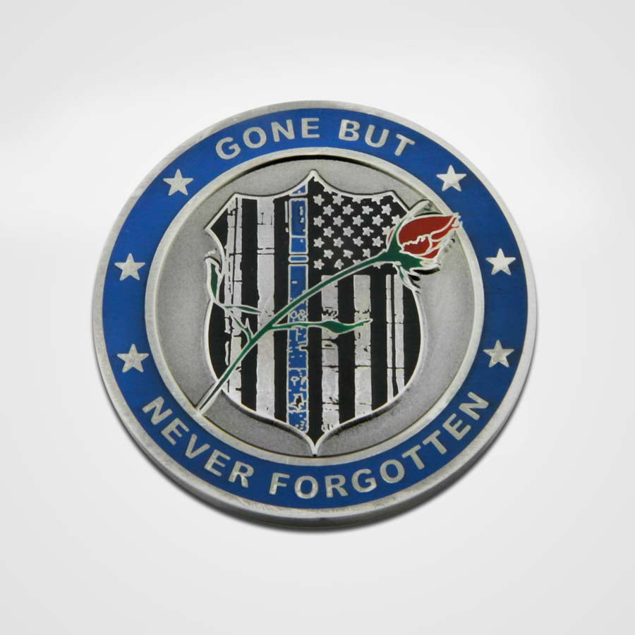 Fallen Police Officer Coin-Front