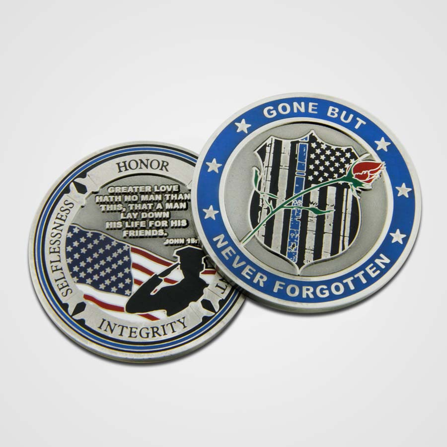 Load image into Gallery viewer, Fallen Police Officer Coins