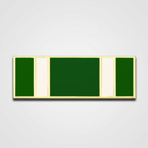 5-Stripe Green/White Merit Pin-Bar