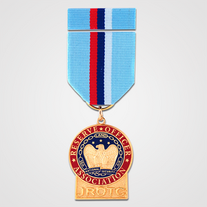 Load image into Gallery viewer, JROTC Medal with Ribbon