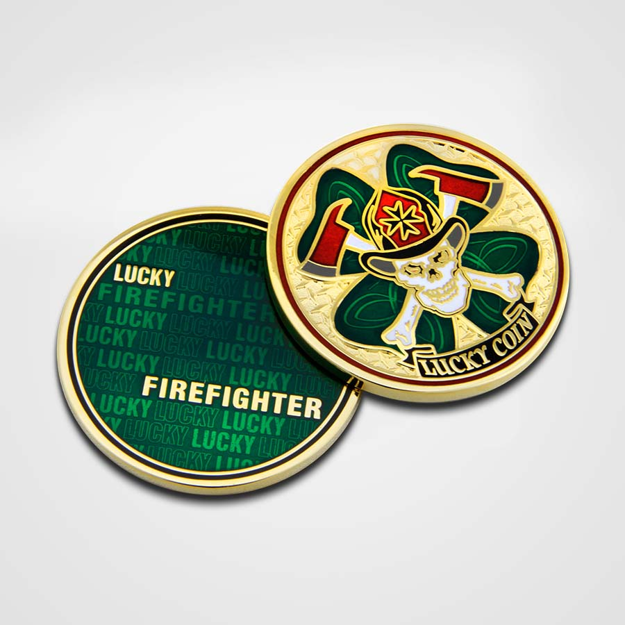 Load image into Gallery viewer, Lucky Firefighter Coins
