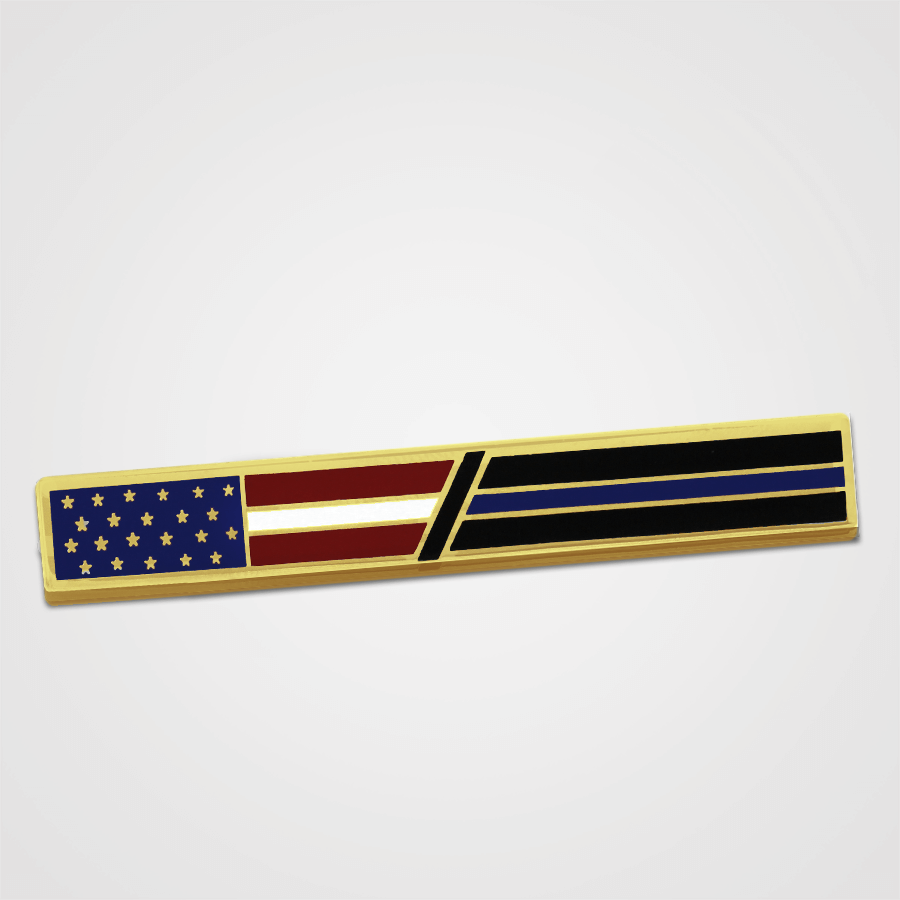 Load image into Gallery viewer, Blue Line/USA Merit Pin