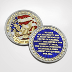 Pledge of Allegiance Coin