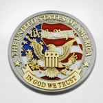Pledge of Allegiance Coin Front