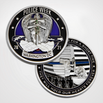 Police Week 2021 Coin Front and Back Side