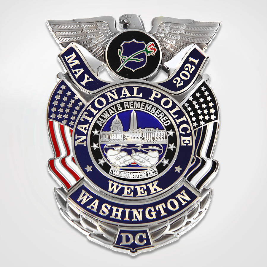 2021 National Police Week Badge