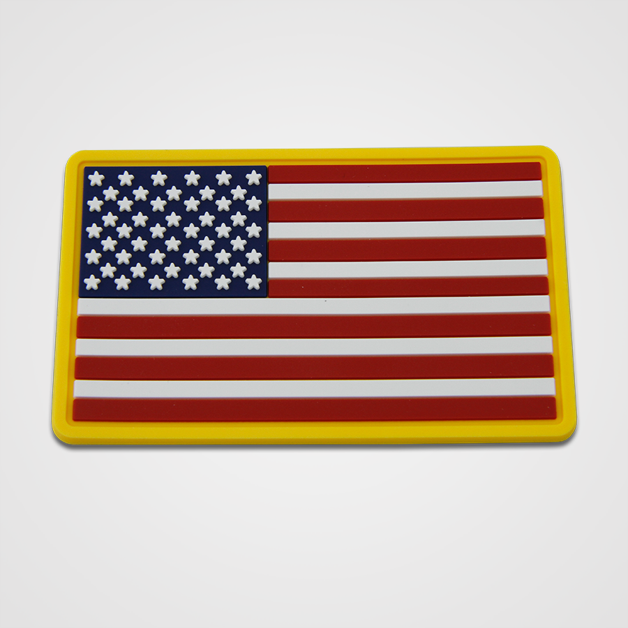 Load image into Gallery viewer, USA Flag PVC Patch