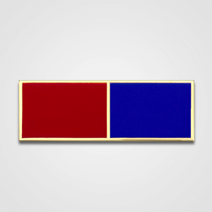2-Stripe Red/Blue Merit Pin-Bar