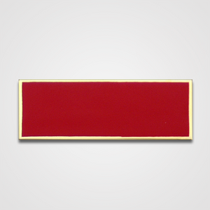 Solid Red Merit Pin-Bar