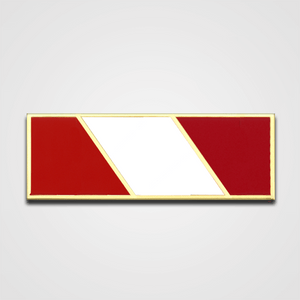 Load image into Gallery viewer, 3-Star Red/White Merit Pin-Bar