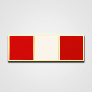 Load image into Gallery viewer, 3-Stripe Red/White Merit Pin-Bar