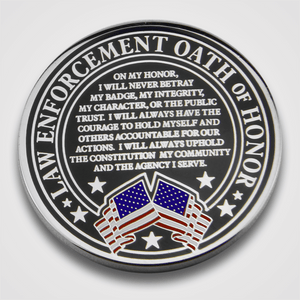 Strength & Honor Law Enforcement Oath