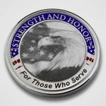 Strength & Honor Coin-Front