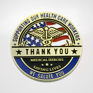 Health Care Thanks a Million Coin Front