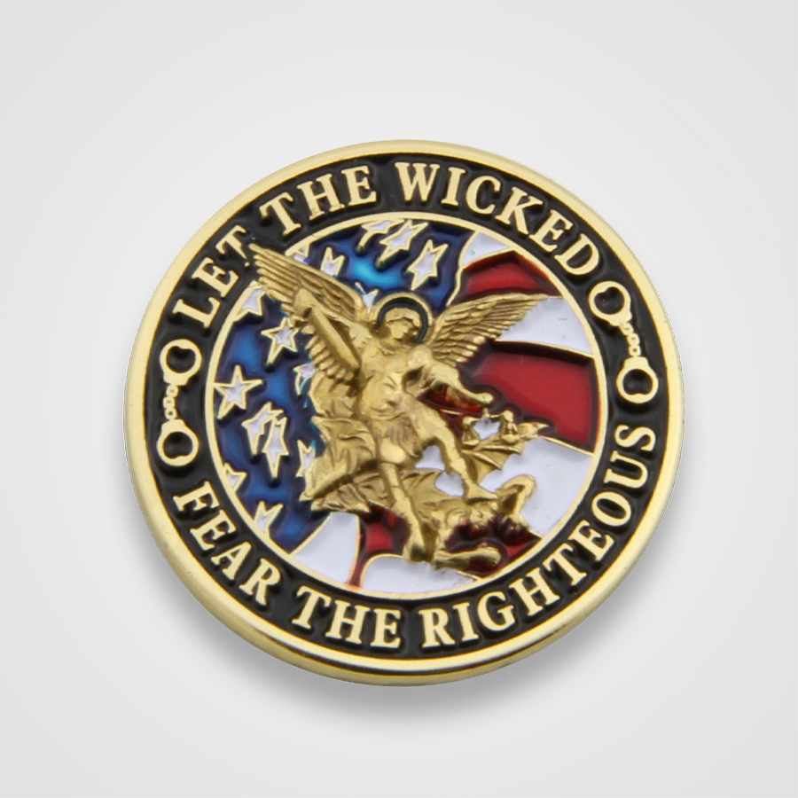 Let the Wicked Fear the Righteous Pin
