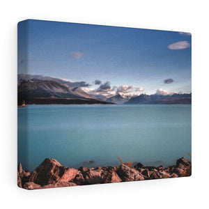 New Zealand (Lake Pukaki) Canvas Gallery Wraps