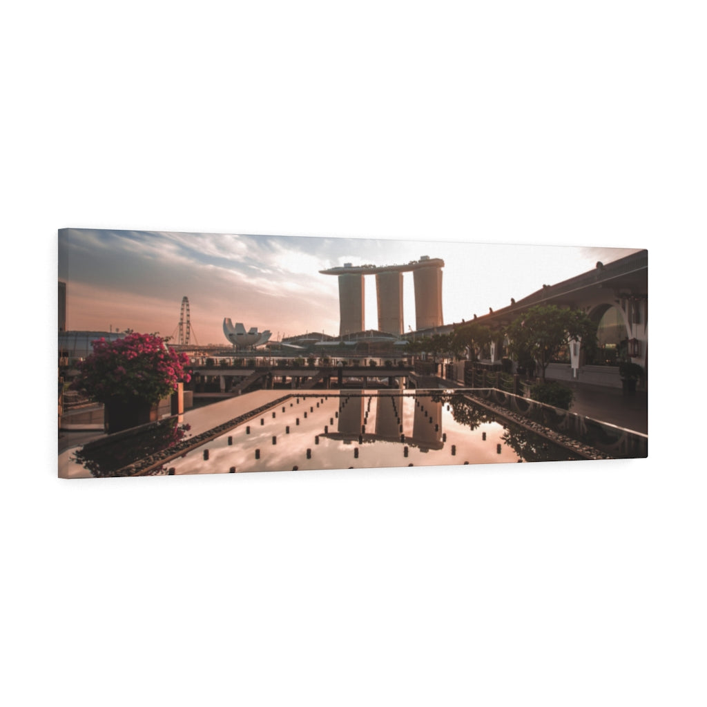 Singapore (Marina Bay) Canvas Gallery Wrap