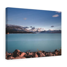 Load image into Gallery viewer, New Zealand (Lake Pukaki) Canvas Gallery Wraps