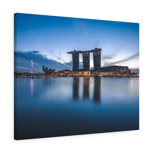 Singapore (Marina Bay Sands) Canvas Gallery Wraps