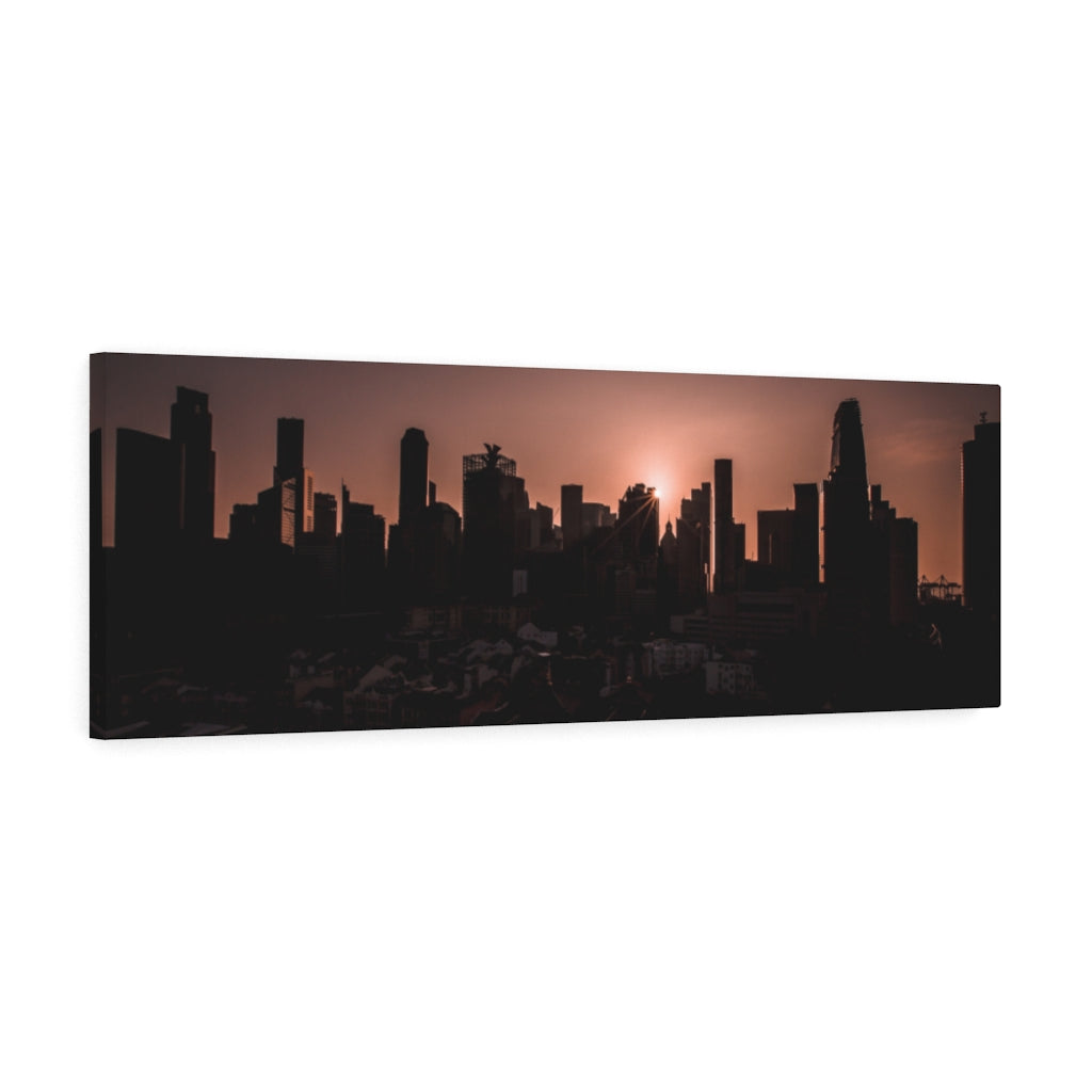Singapore (Central Business District) Canvas Gallery Wrap