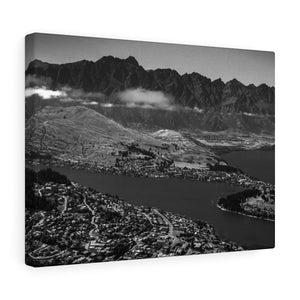 New Zealand (Queenstown - B&W) Canvas Gallery Wraps
