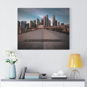 Singapore (Marina Bay) Canvas Gallery Wraps