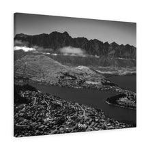 Load image into Gallery viewer, New Zealand (Queenstown - B&W) Canvas Gallery Wraps