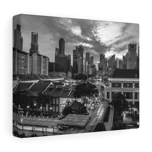 Singapore (Chinatown) Canvas Gallery Wraps