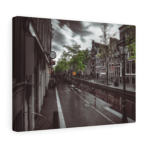 Netherlands (Amsterdam Red Light District) Canvas Gallery Wraps