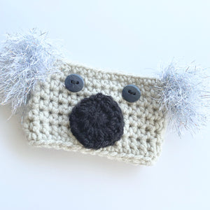 Crochet Kola Coffee Cozy