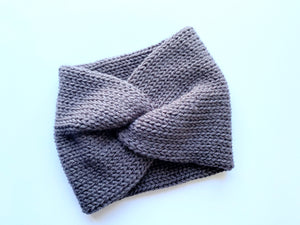 Knit Ear Warmer 100% Acrylic