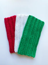 Load image into Gallery viewer, Crochet Washcloths, Crochet dish towels, Crochet Christmas washcloths, 100% soft cotton, Baby wipes, Crochet linen