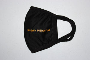 KNOWN INSIGHT CO FACEMASK YELLOW