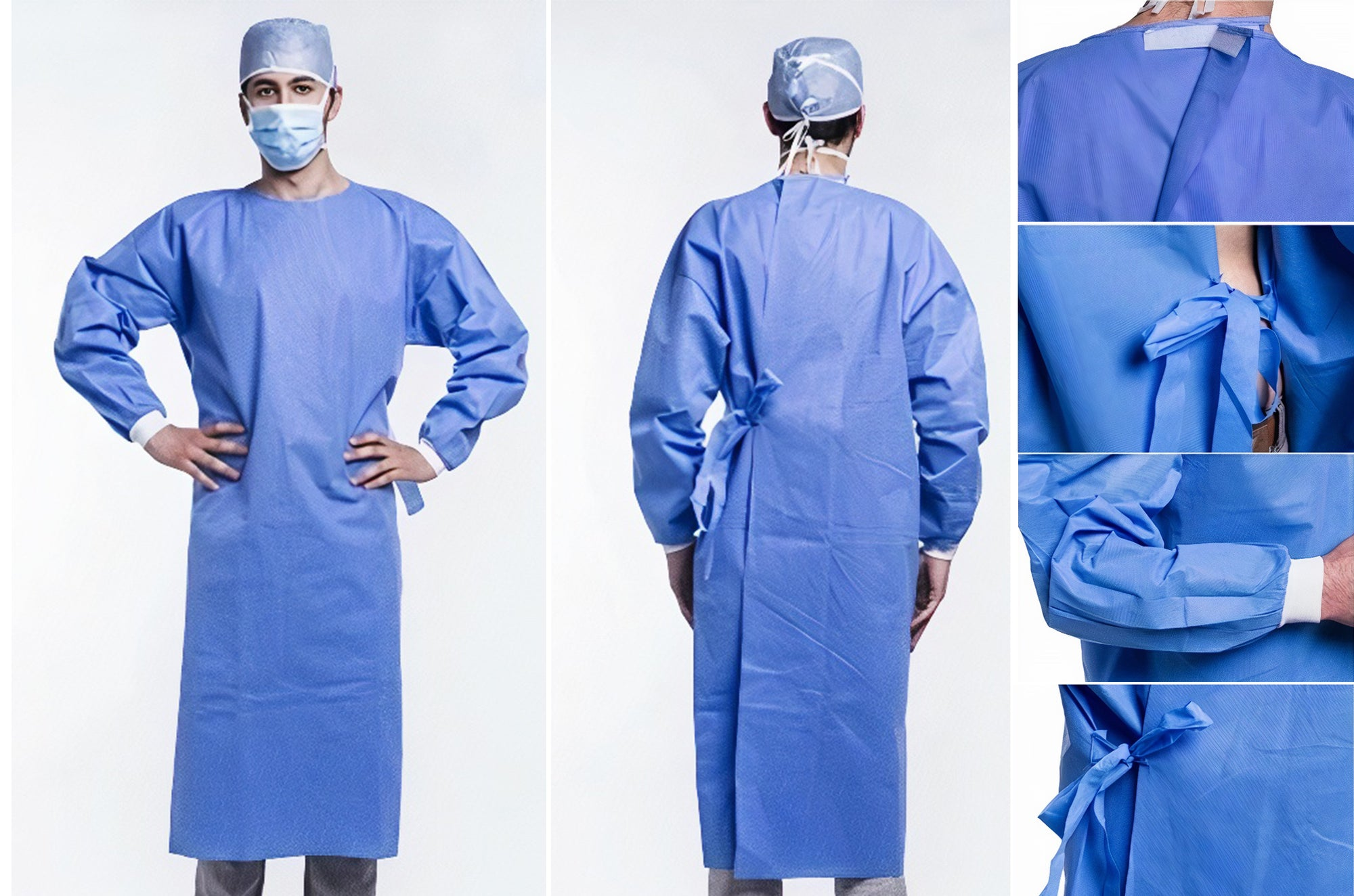 1631 40gm SMS Non-Woven Gown-Level 3 | PPE Advantate powered by dS Product Hunters
