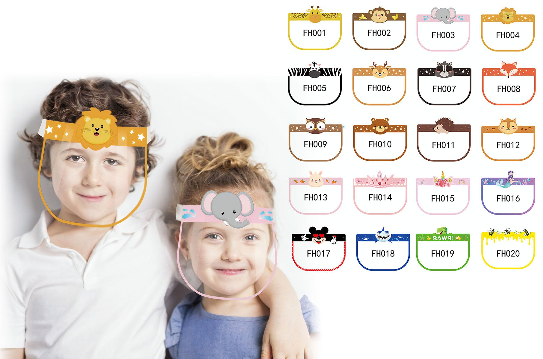 1671 Fun Kids Face Shields | PPE Advantate powered by dS Product Hunters