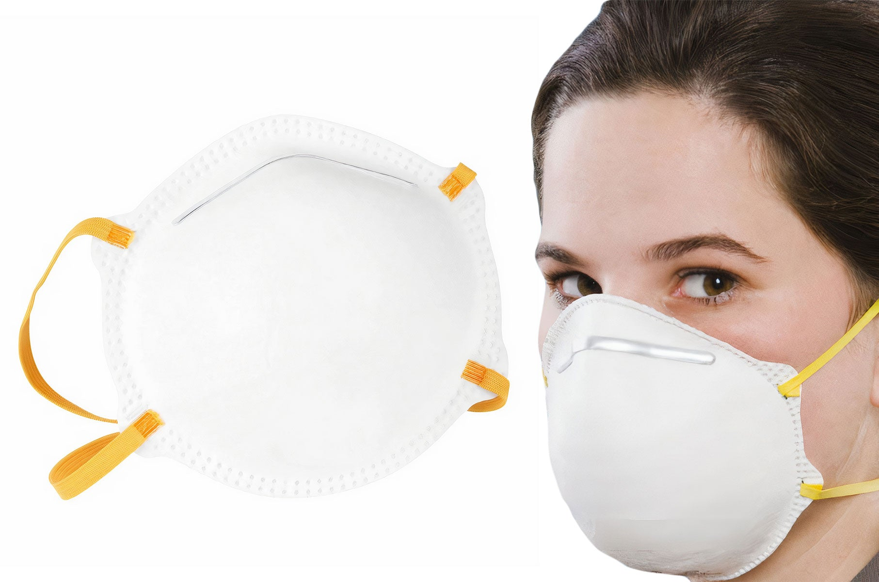 1675 FFP2 Cup Mask FFP2 EN149:2001+A1:2009 - Baner | PPE Advantate powered by dS Product Hunters