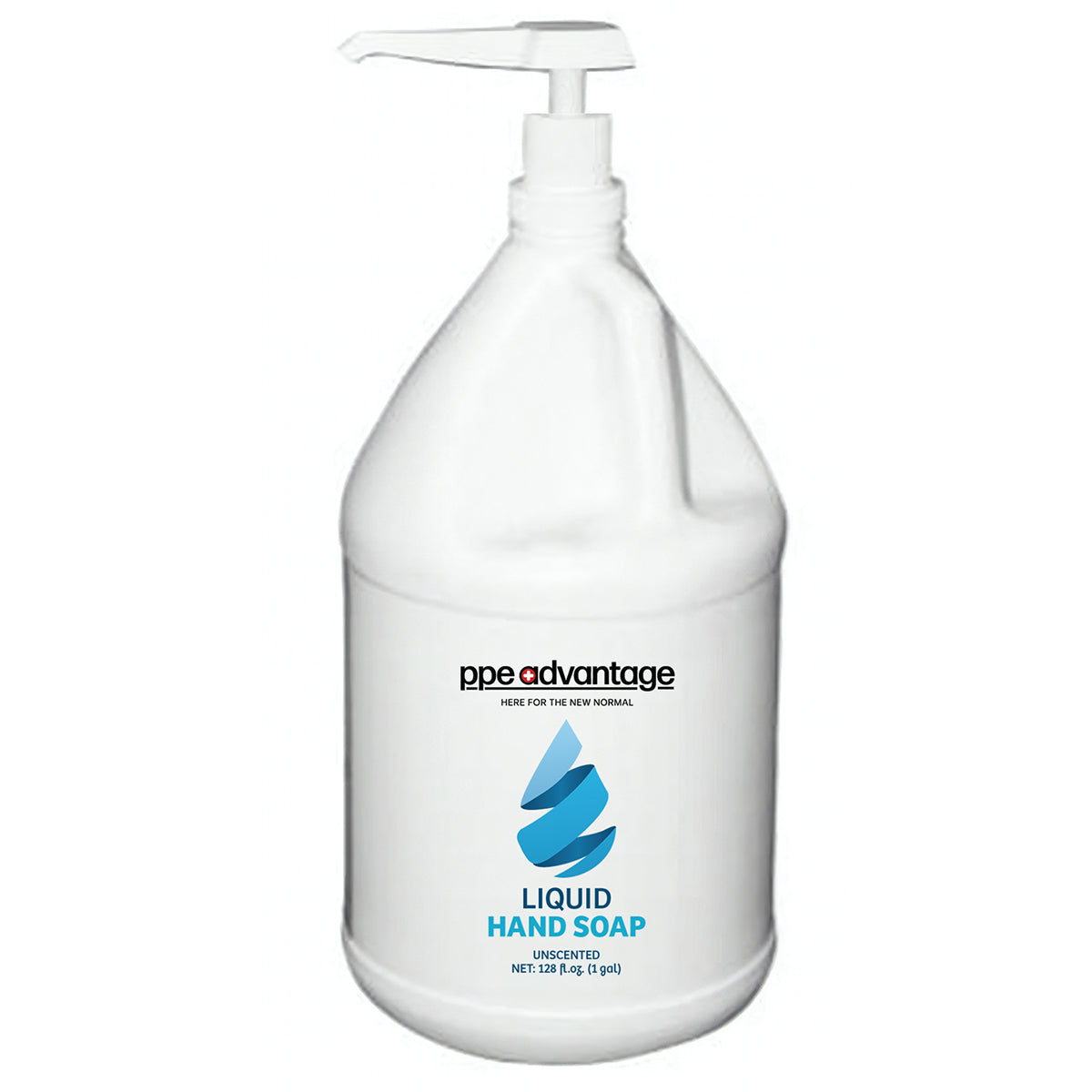 4068 Custom Logo Liquid Hand Soap (1gal) - Blue Droplet | PPE Advantate powered by dS Product Hunters