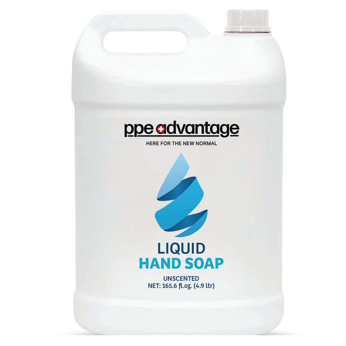 4069 Custom Logo Liquid Hand Soap (4.9ltr) - Blue Droplet | PPE Advantate powered by dS Product Hunters