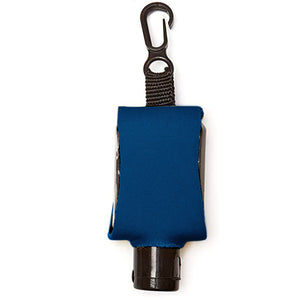 Branded Essentials Reusable Sanitizer Refill and Koozie Key Chain