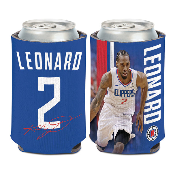 12 oz. Kawhi Leonard Blue Can Cooler