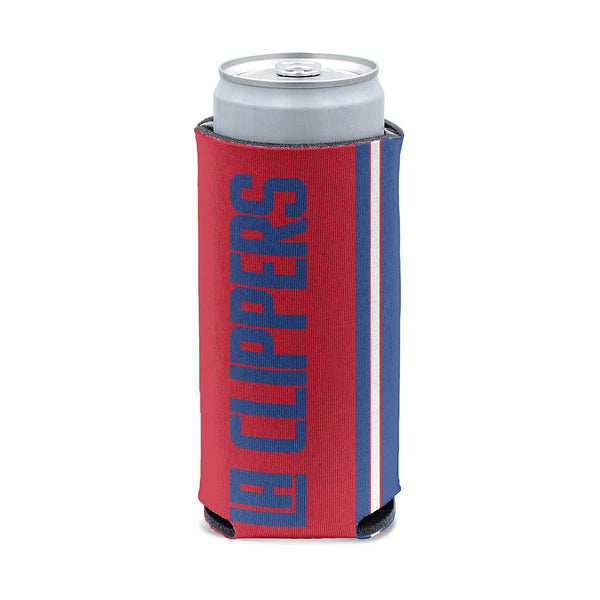 12 oz. Red Slim Can Cooler