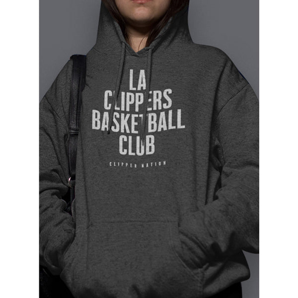 Ladies LA Basketball Club Hooded Sweatshirt