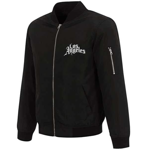 City Edition Full Zip Bomber Jacket by JH Design