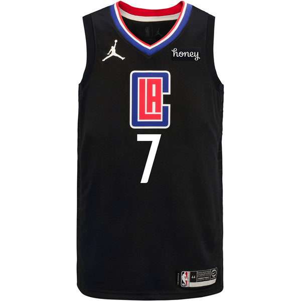 LA Clippers Amir Coffey Jordan Brand 2020/21 Statement Swingman Jersey